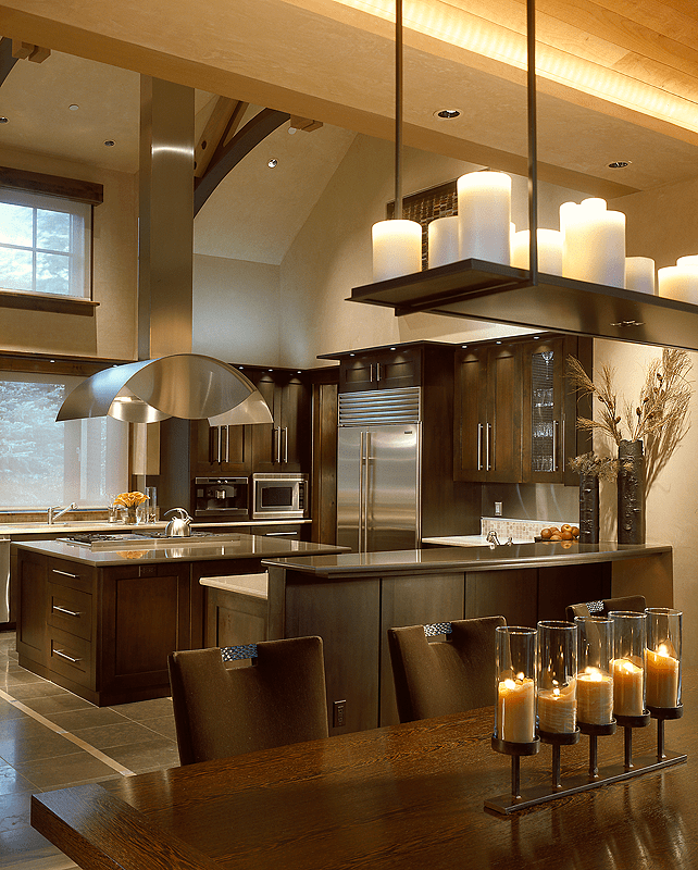 modern classic kitchen home christmas decoration