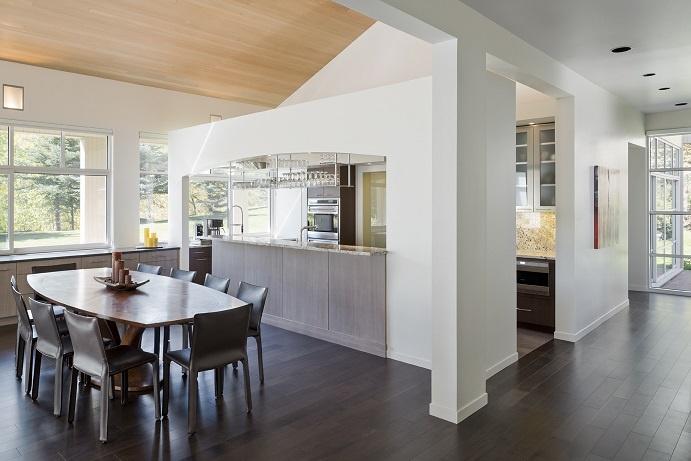 Modern Kitchen Dining Room Design Center